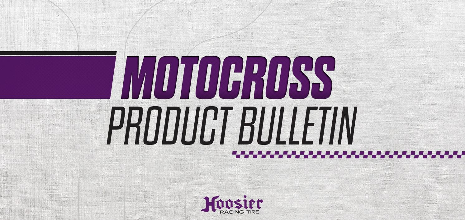 Hoosier Launches New 80/100-21 MX25 and MX30 Motocross Fronts