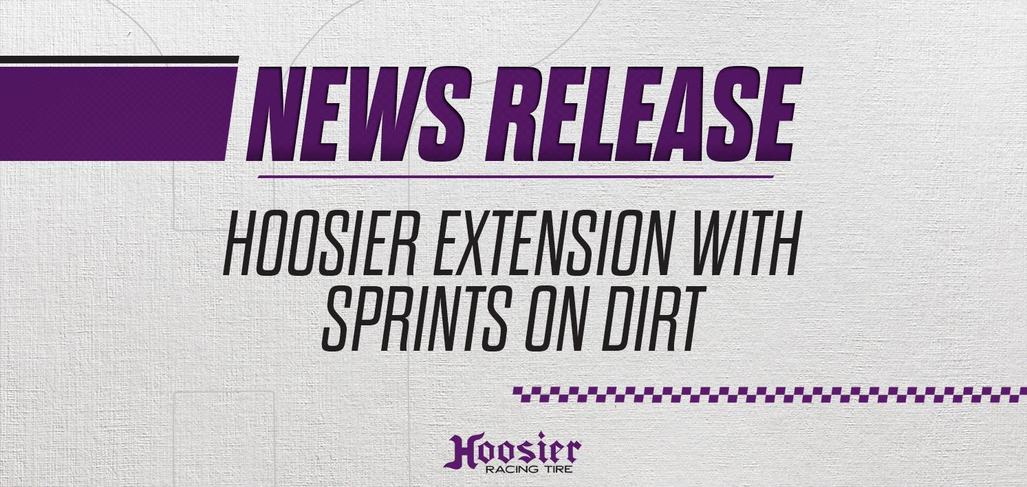 Hoosier Tire Extends Sprints on Dirt Agreement