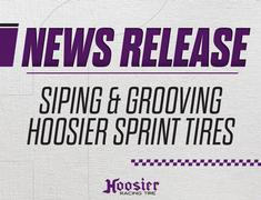 Siping and Grooving Hoosier Sprint Tires
